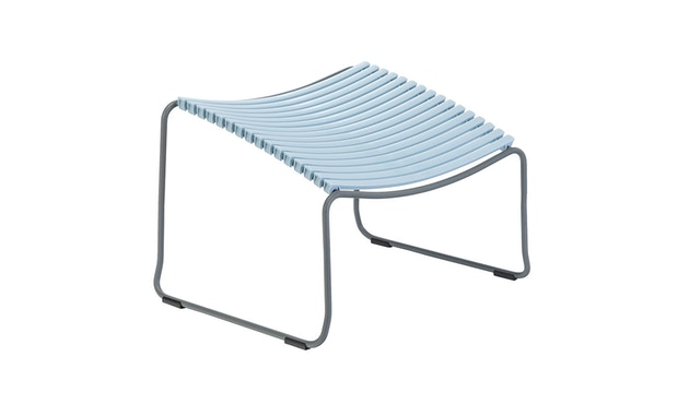 Houe - Click Footrest kruk schuin - blauw - 1