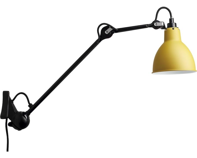 DCW éditions - LAMPE GRAS N°222 Wandleuchte schwarz - gelb - rund - 1