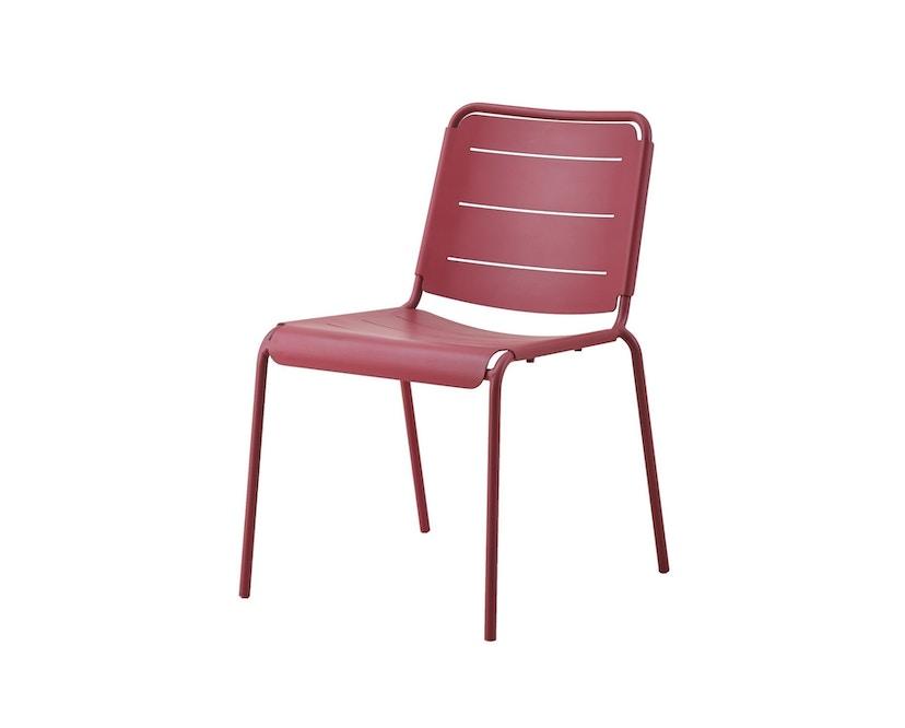 Cane-line - Copenhagen Stuhl ohne Armlehne - marsala - 1