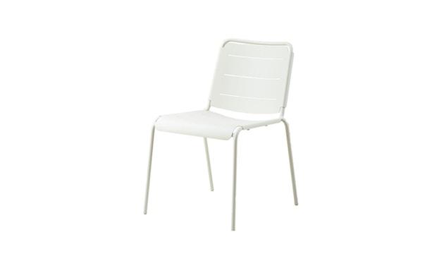 Cane-line - Copenhagen Stuhl ohne Armlehne - weiß - 2