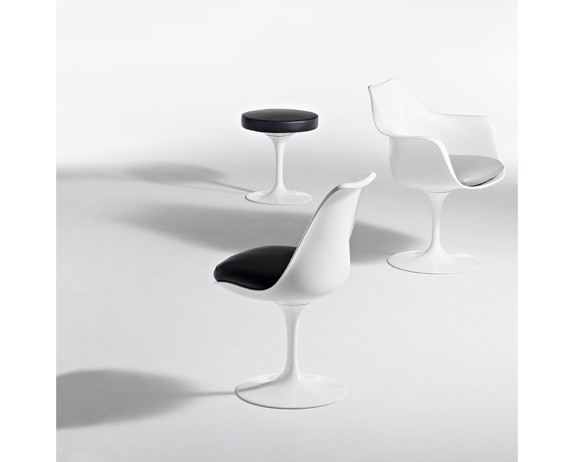 Knoll International - Chaise avec accoudoirs Saarinen Tulip - 4