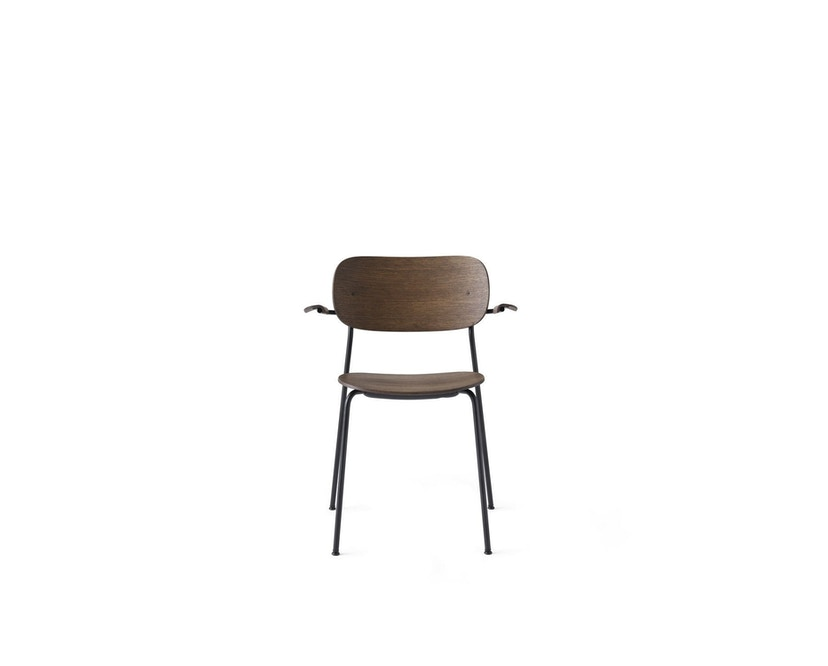 Menu - Co Chair w/ Armrest ohne Polster - Dark Stained Oak - 1