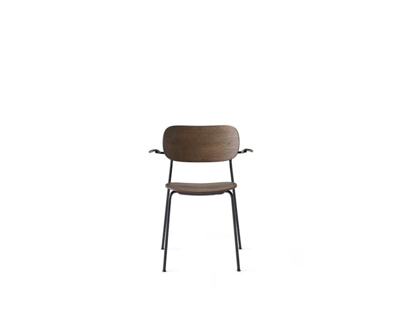 Menu - Co Chair w/ Armrest - zonder zitkussen - donkere eik - 1