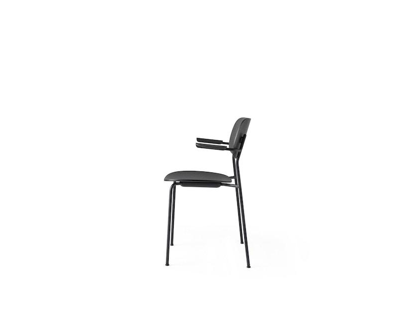 Menu - Co Chair w/ Armrest ohne Polster - Black Oak - 2