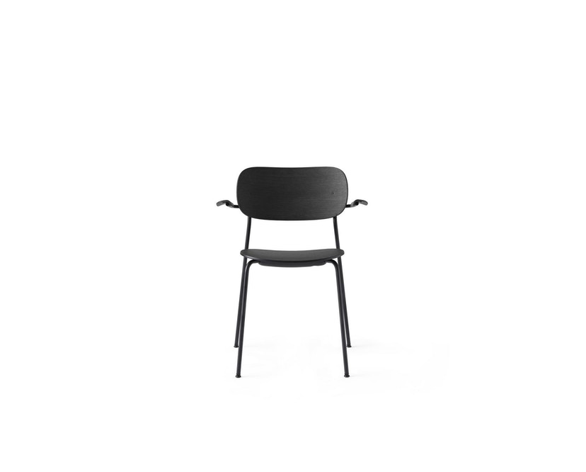 Menu - Co Chair w/ Armrest ohne Polster - Black Oak - 1