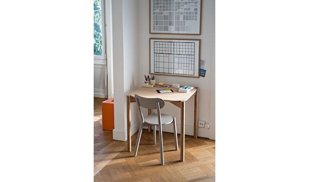 Karimoku New Standard - Castor Tisch quadratisch - Eiche - 11