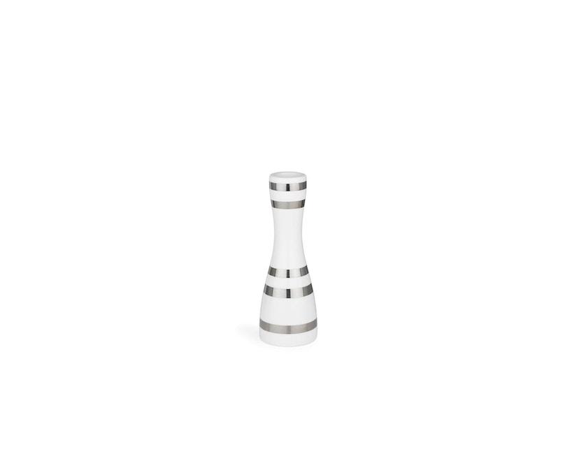 Kähler Design - Omaggio Kerzenhalter - H160 mm - silber - 1