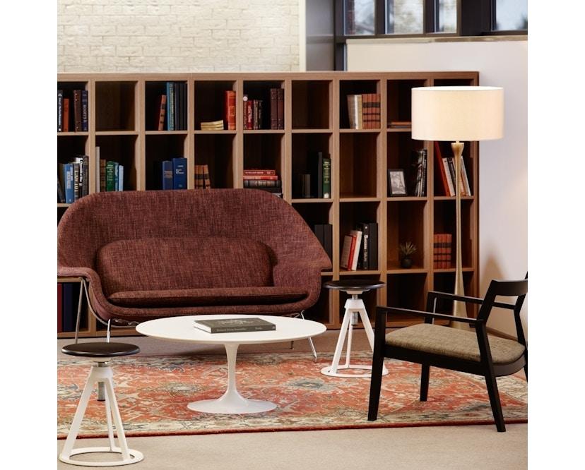 Knoll International - Saarinen Womb Sofa - Relax Polyester - Cato orange - 2