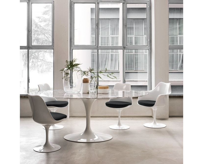 Knoll International - Chaise avec accoudoirs Saarinen Tulip - 5