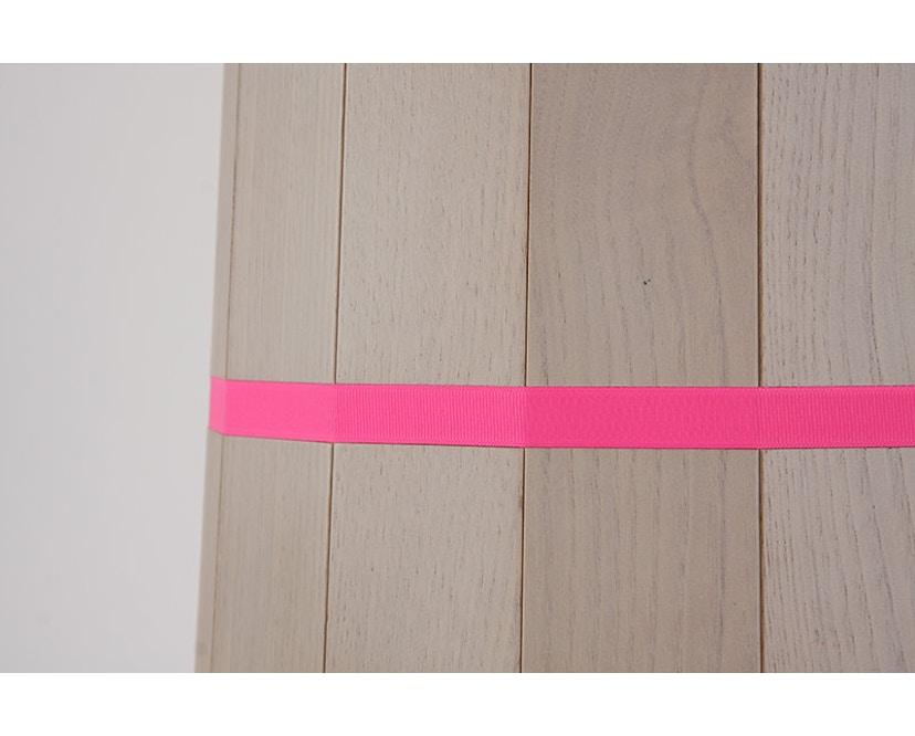 Karimoku New Standard - Colour Wood Tisch Kastanie - bunte Streifen - 12