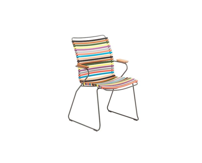 Houe - Click Dining Armlehnstuhl mit hoher Lehne - multicolor 1 - 1