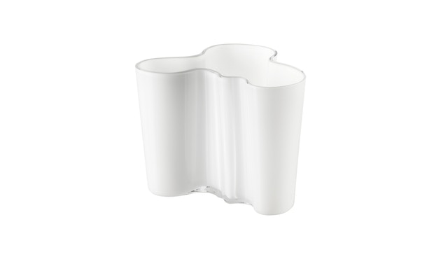 Iittala - Alvar Aalto Vase 12cm - opalweiß - 1