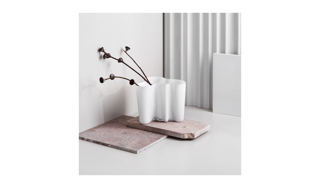 Iittala - Alvar Aalto Vase 12cm - opalweiß - 2