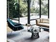 Knoll International - Saarinen Womb Fauteuil - Relax - Chroom - standaard (B/H/T 106x92x94 cm) - Donsvulling - Volo Black - zwart - 3
