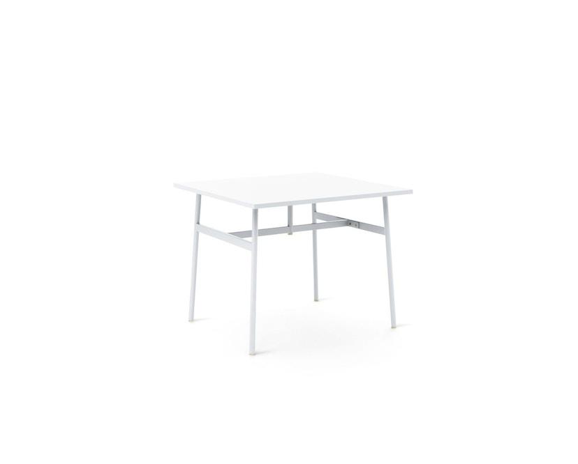 Normann Copenhagen - Union Tisch eckig - 90 x 90 cm - white  - 1