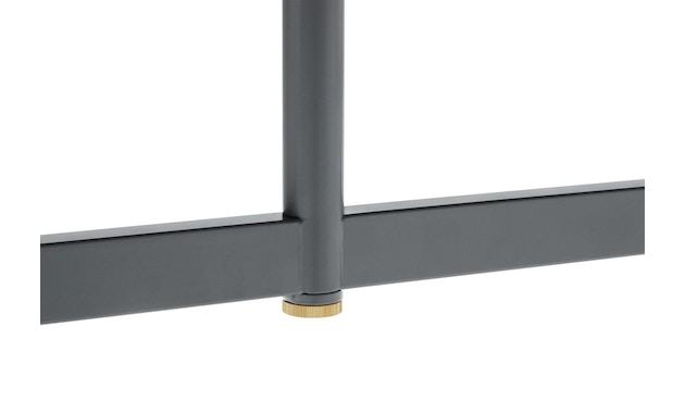 Normann Copenhagen - Union Tisch eckig - 90 x 90 cm - grey - 2