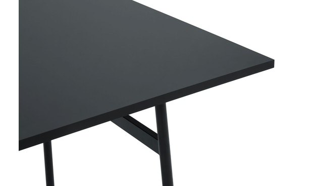 Normann Copenhagen - Union tafel hoekig - 160 x 90 cm - zwart - 1