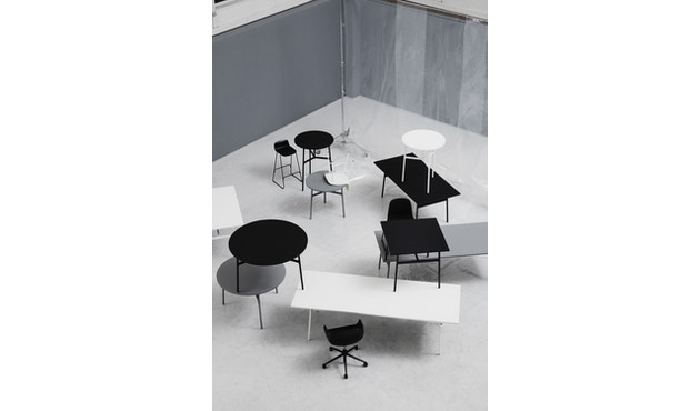 Normann Copenhagen - Union tafel hoekig - 160 x 90 cm - zwart - 3