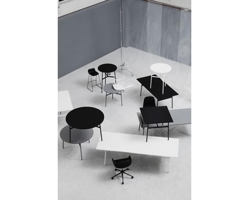 Normann Copenhagen - Union tafel hoekig - wit - 90 x 90 cm - 3