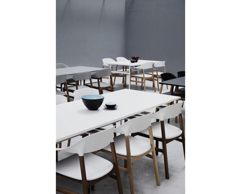 Normann Copenhagen - Union tafel hoekig - 160 x 90 cm - zwart - 4