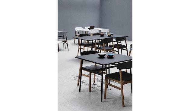 Normann Copenhagen - Union tafel hoekig - 160 x 90 cm - zwart - 6