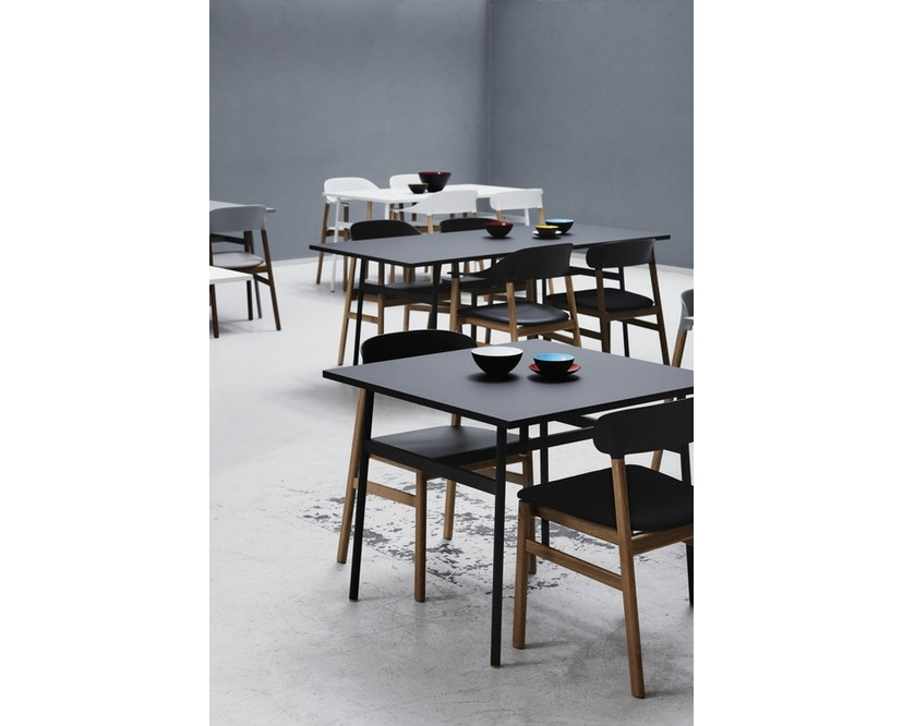Normann Copenhagen - Union tafel hoekig - wit - 90 x 90 cm - 6
