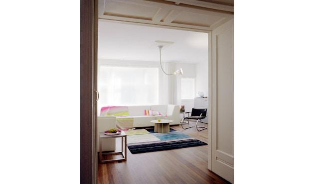 Karimoku New Standard - Colour Wood Tisch Kastanie - bunte Streifen - 14