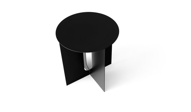 Menu - Androgyne Side Table - schwarz - steel Base - 1