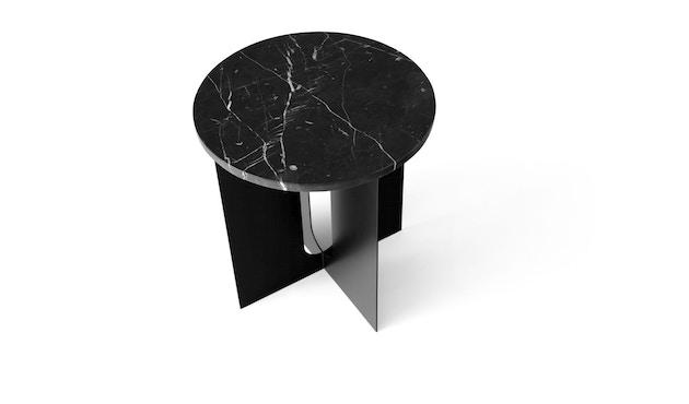 Menu - Tischplatte für Androgyne Side Table - Marmor schwarz - 2