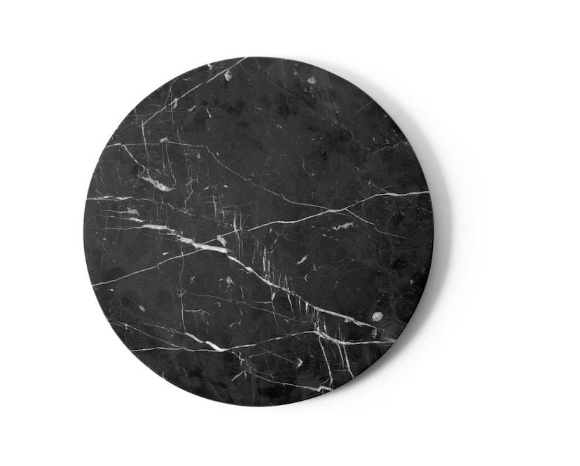 Menu - Tischplatte für Androgyne Side Table - Marmor schwarz - 1