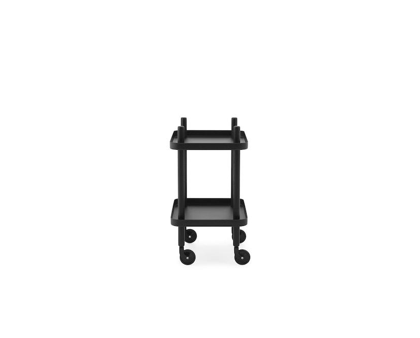 Normann Copenhagen - Block Serveerwagen - zwart - zwart/zwart - 2