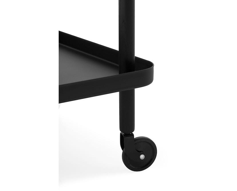 Normann Copenhagen - Block Serveerwagen - zwart - zwart/zwart - 3