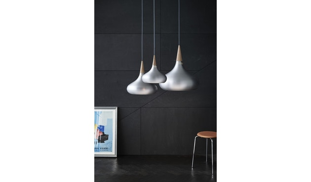 Fritz Hansen - Dot Hocker - Wildleder walnussfarben - 4