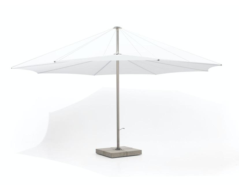 extremis - inumbra Sonnenschirm - weiß - 350 - 1