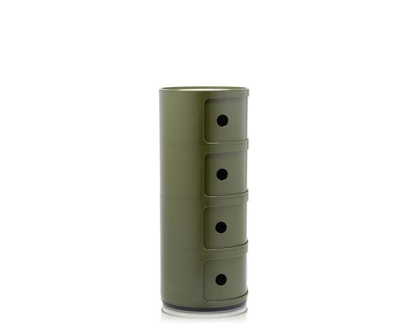 Kartell - Componibili Container - 4 Elemente - grün - 1