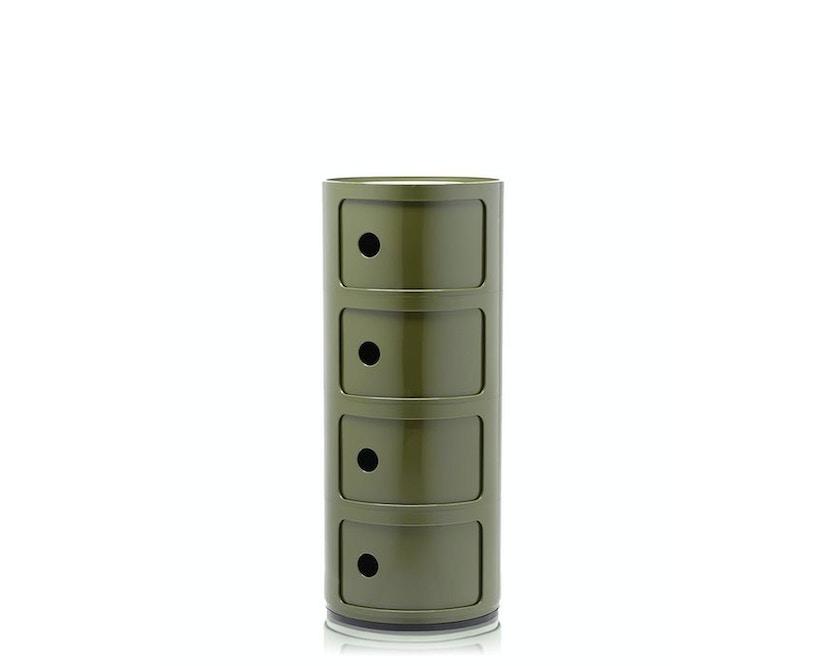 Kartell - Componibili Container - 4 Elemente - grün - 2