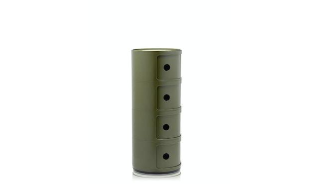 Kartell - Componibili Container - 4 Elemente - grün - 3