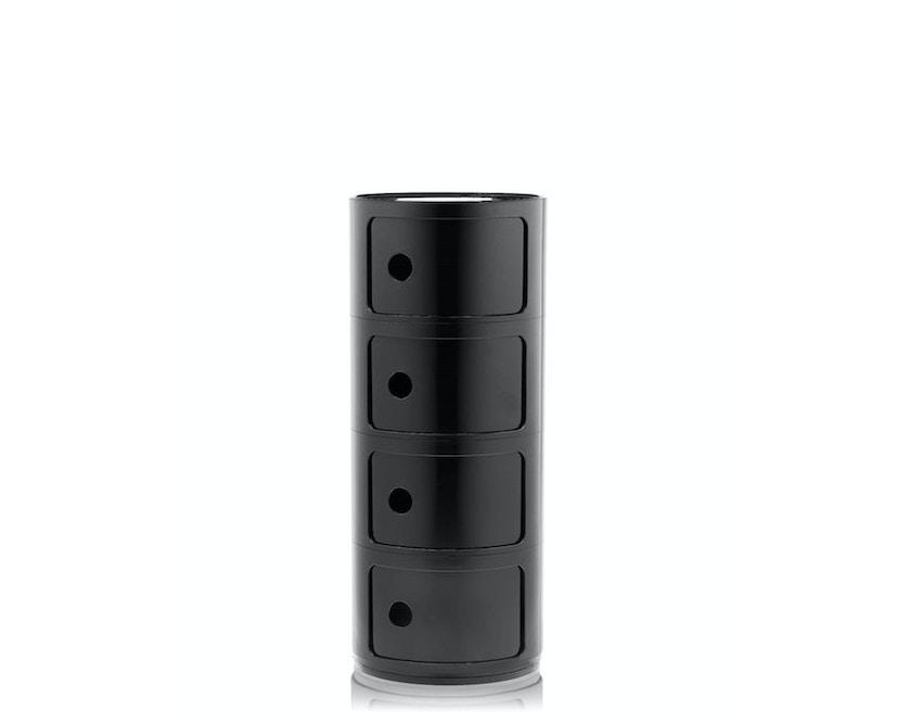 Kartell - Componibili Container - 4 Elemente - schwarz - 1