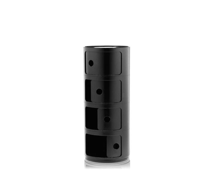 Kartell - Componibili Container - 4 Elemente - schwarz - 2
