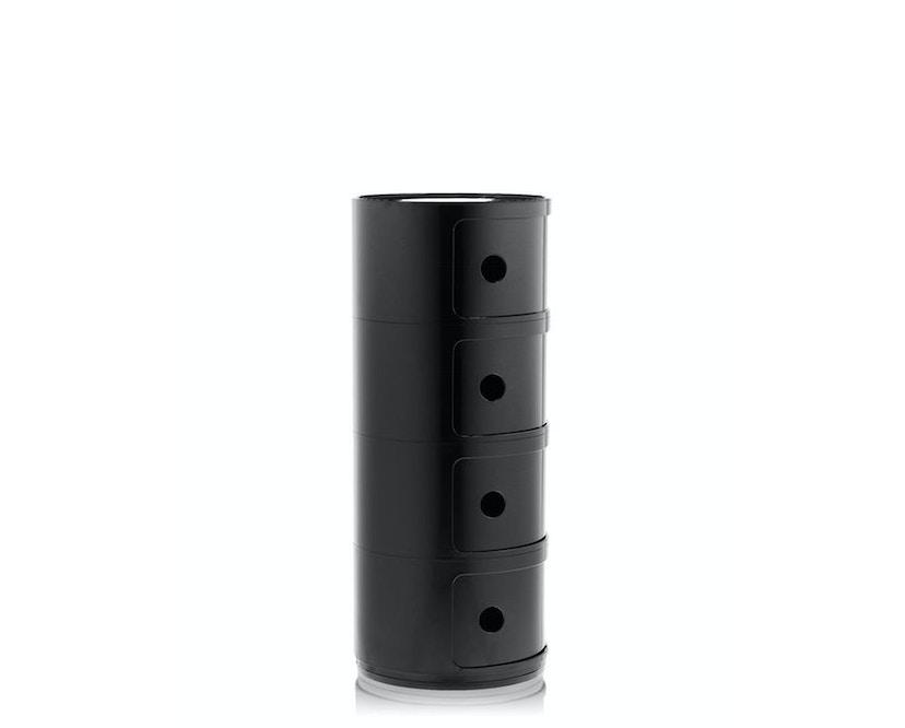 Kartell - Componibili Container - 4 Elemente - schwarz - 3