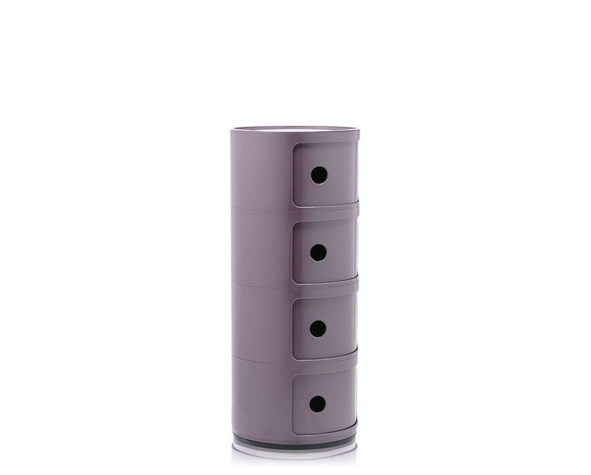Kartell - Componibili Container - 4 Elemente - violett - 3