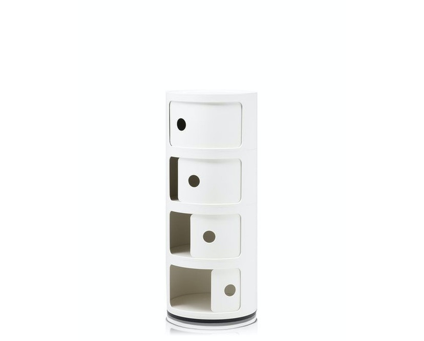 Kartell - Componibili Container - 4 Elemente - weiß - 2
