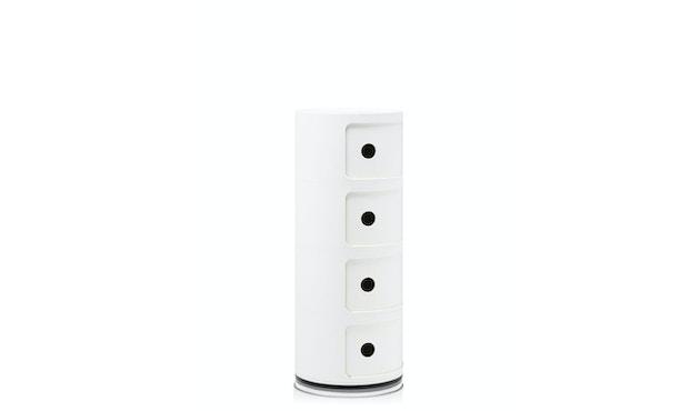Kartell - Componibili Container - 4 Elemente - weiß - 3