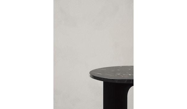 Menu - Tischplatte für Androgyne Side Table - Marmor schwarz - 3