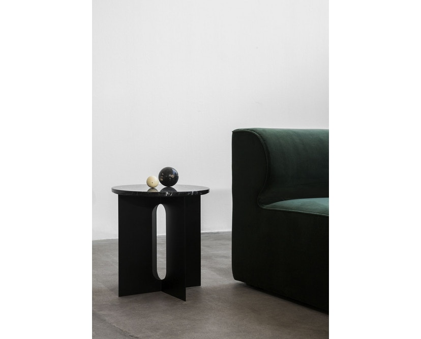 Menu - Androgyne Side Table - schwarz - steel Base - 2