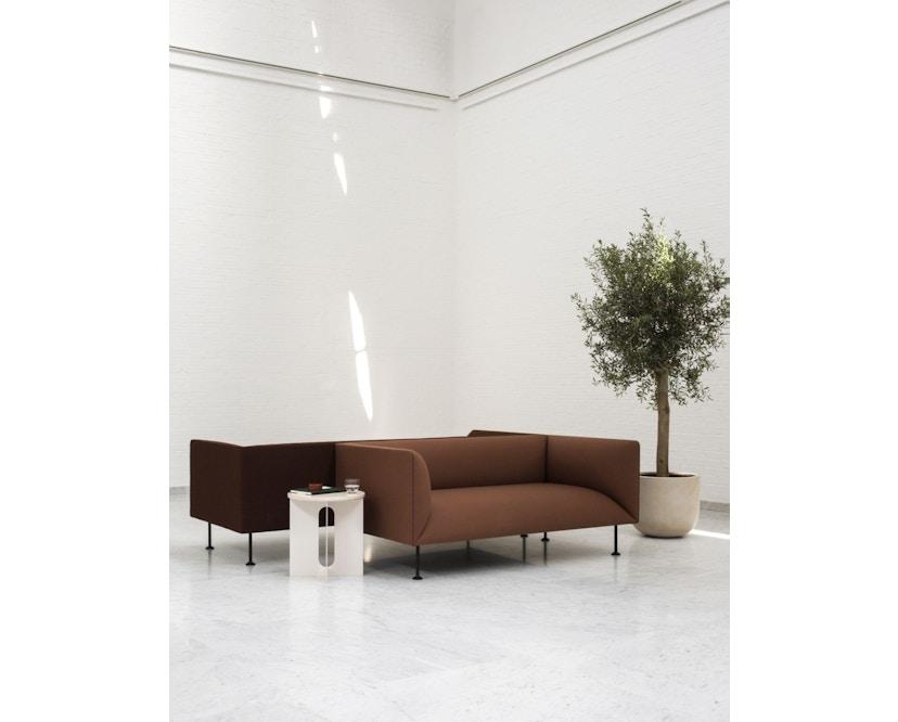 Menu - Androgyne Side Table - elfenbein - steel Base - 2