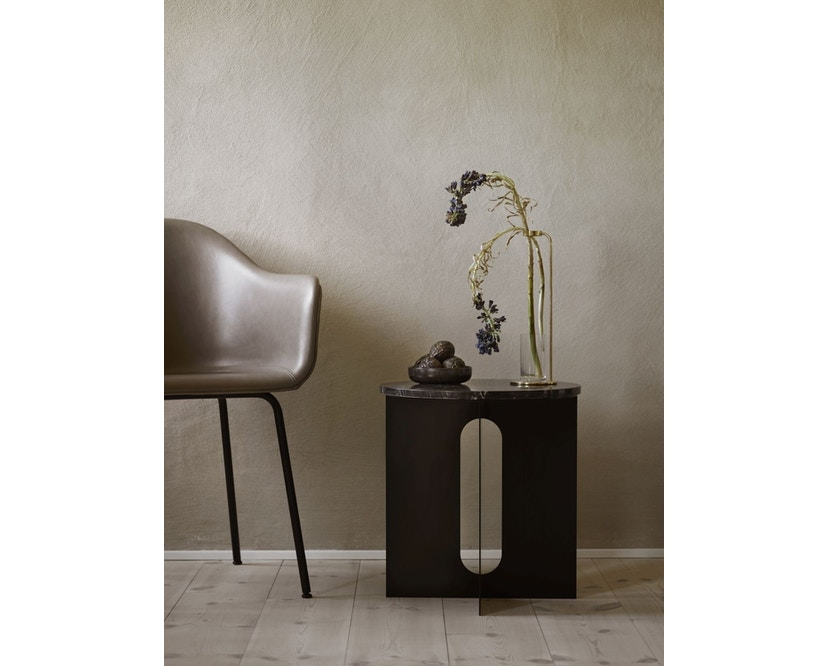 Menu - Androgyne Side Table - schwarz - steel Base - 4