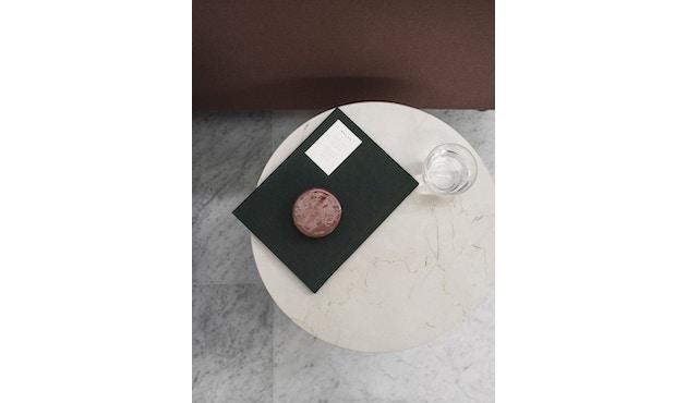 Menu - Tischplatte für Androgyne Side Table - Marmor elfenbein - 6