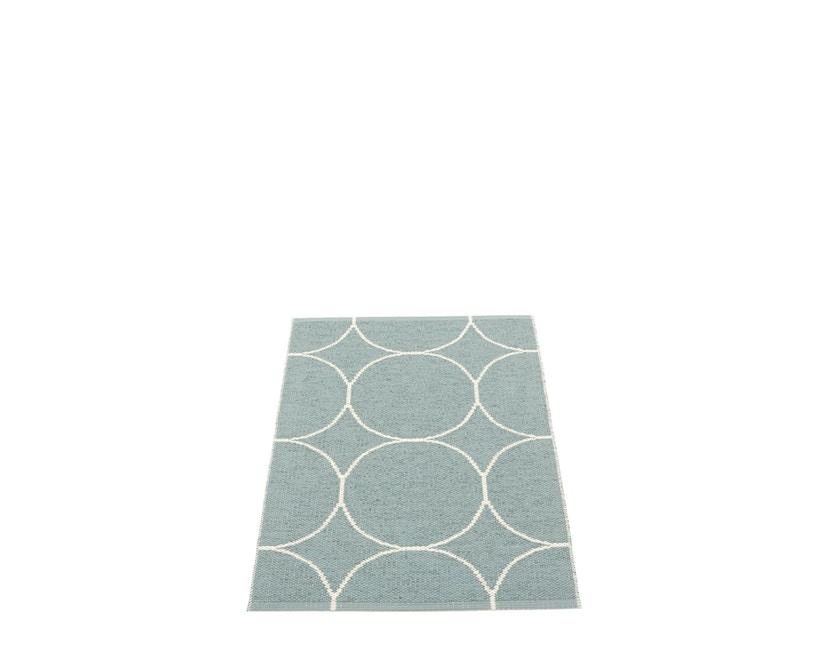 Pappelina - Boo Omkeerbaar tapijt - muntgrijs / vanille - 70 x 100 cm - 1