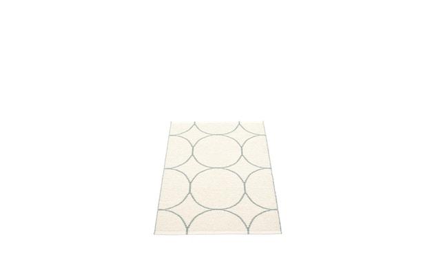 Pappelina - Boo Omkeerbaar tapijt - muntgrijs / vanille - 70 x 100 cm - 2